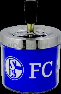 Schleuderaschenbecher FC Schalke 04 Ø 9 cm