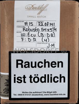 Davidoff Limited Editions Small Batch No. 3 Robusto