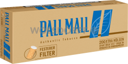 Pall Mall Authentic Blue Xtra Hülsen 5 x 200er