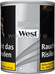 West Silver Volume Tobacco +10% Dose 50 g