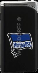 Feuerzeug Tempo schwarz matt Hertha BSC Berlin