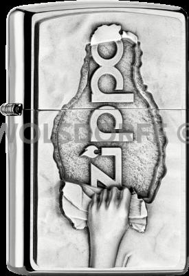 Zippo 2005105 200 Torn Paper Zippo®