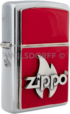 Zippo Depo Flame Red