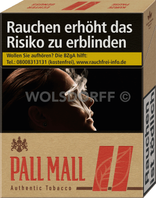 Pall Mall Authentic Red XL (8 x 22)