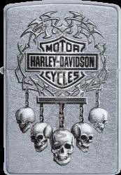 Zippo 60003930 #207 Harley-Davidson® 5 Skulls
