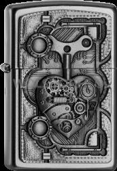 Zippo 2005032 205 Steam Punk Heart Emblem