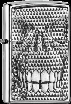 Zippo 2005360 #250 Carbon Skull