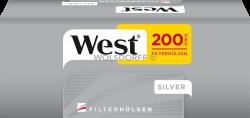 West Silver Hülsen 5 x 200er