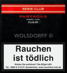 Partagas Serie Club 20er