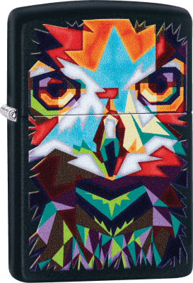 Zippo 60004131 #218 Colorful Owl Design