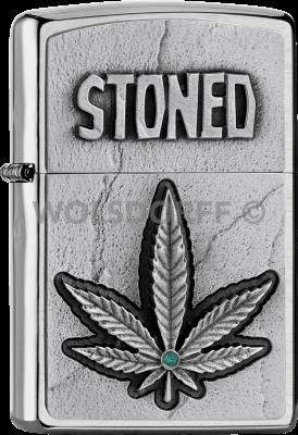 Zippo 2005904 #200 Stoned Emblem